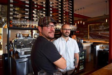 Ty Rodriguez (left) and Ferrell Alvarez are among young chefs and restauranteurs who have transformed the Seminole Heights neighborhood in Tampa.